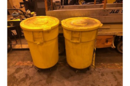 Lot of 2 Trashcans