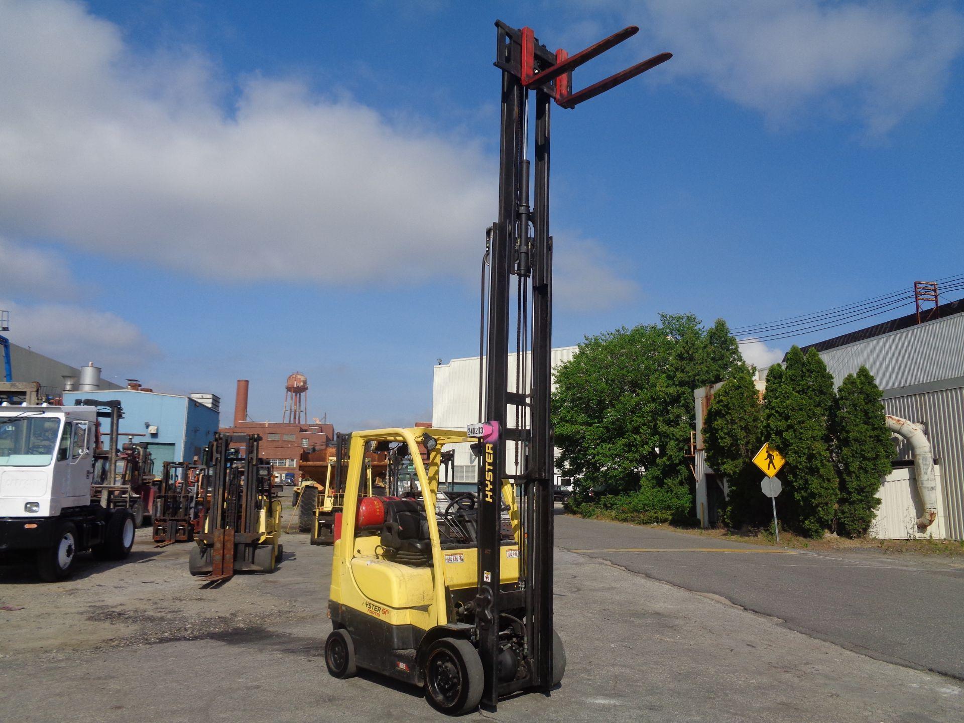 2015 Hyster S50FT 5,000 lb Forklift - Image 14 of 17