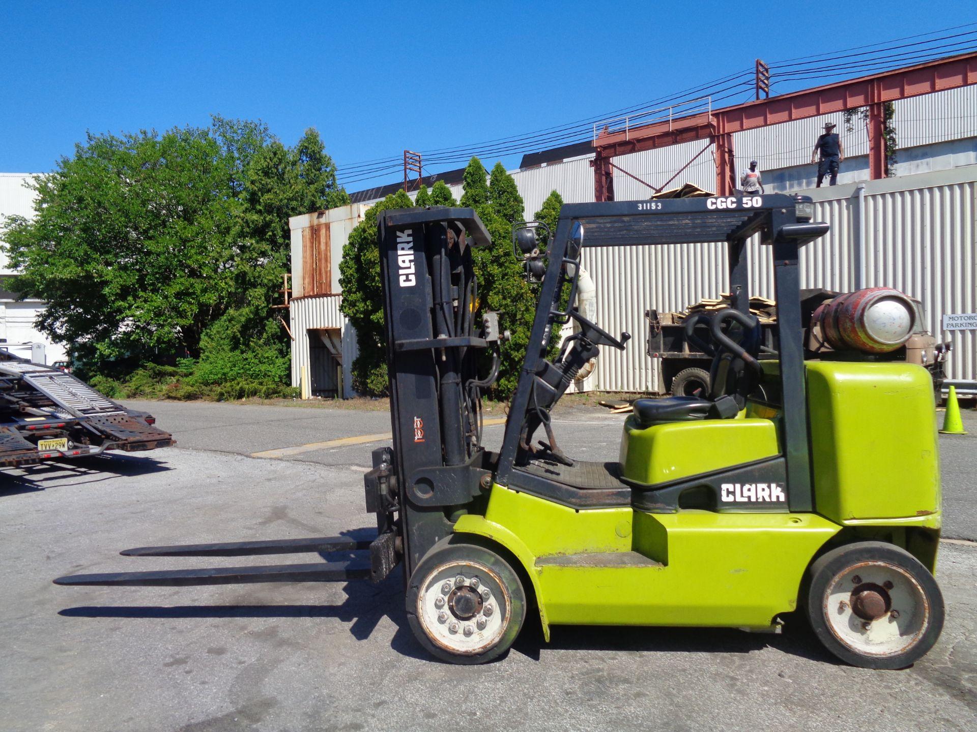 2014 Clark CGC500 10,000 lb Forklift - Image 2 of 12