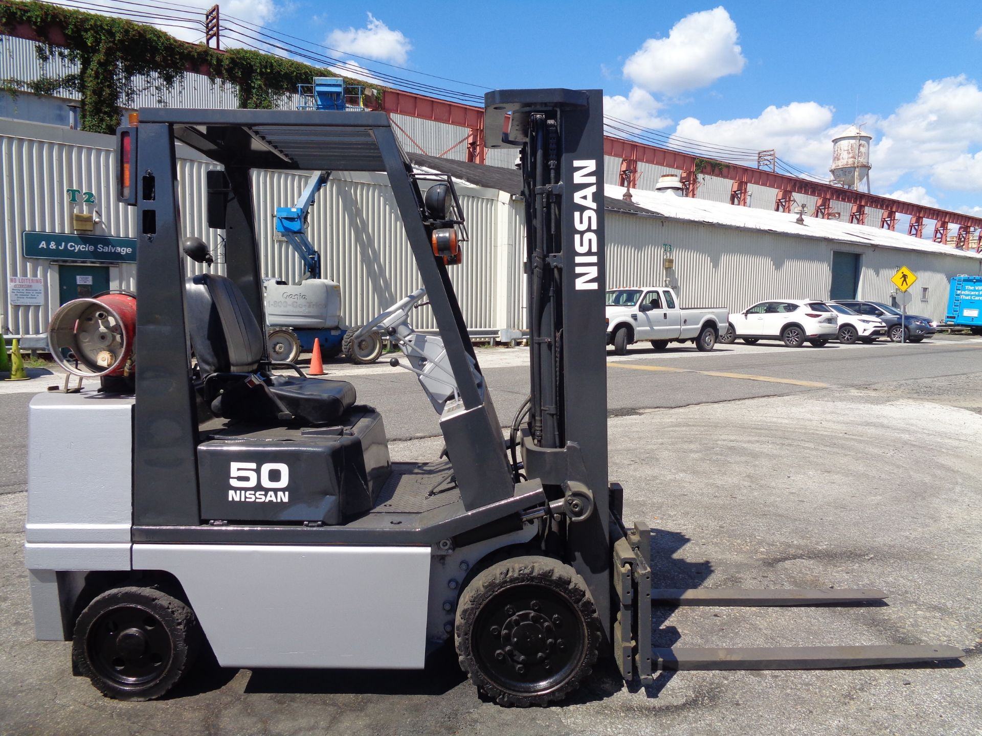 Nissan KCPH02A25PV 4,400 lb Forklift - Image 6 of 17