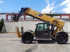 2012 Caterpillar TL1255C 12,000 lb Telescopic Forklift