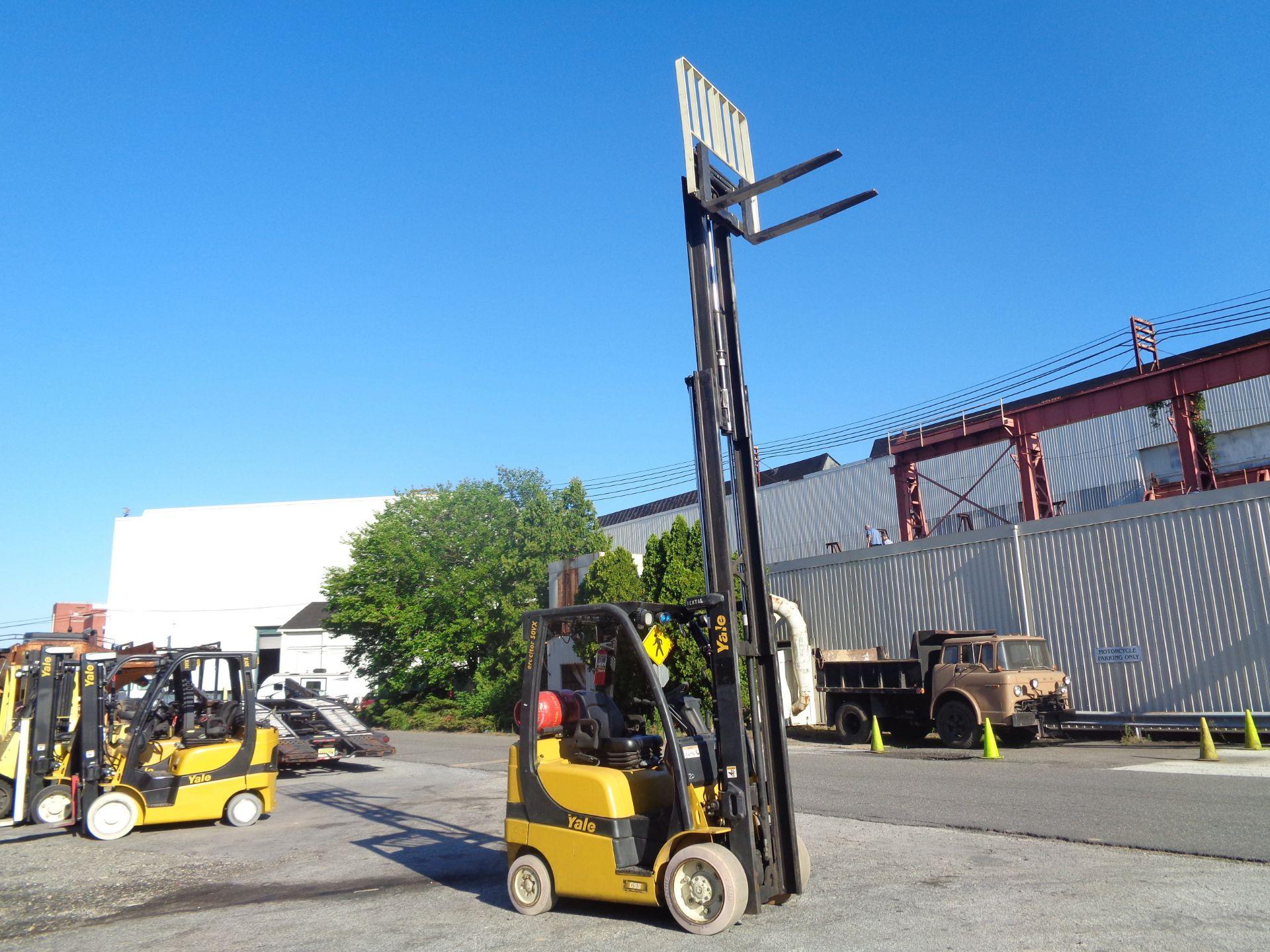 2014 Yale GLC050VXNVRE088 5,000 lb Forklift - Image 10 of 11