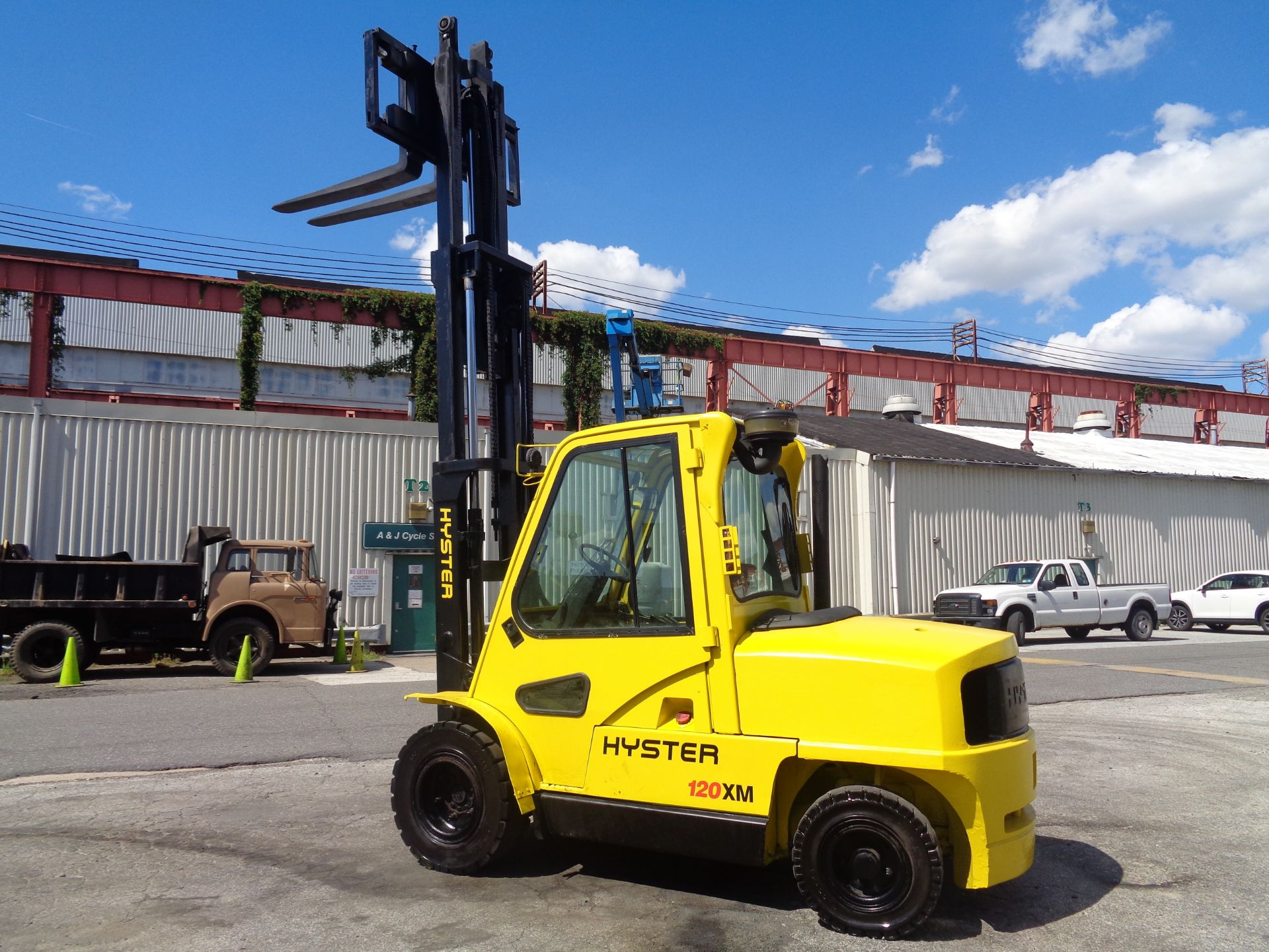 Hyster H120XL 12,000lb Forklift - Image 14 of 15