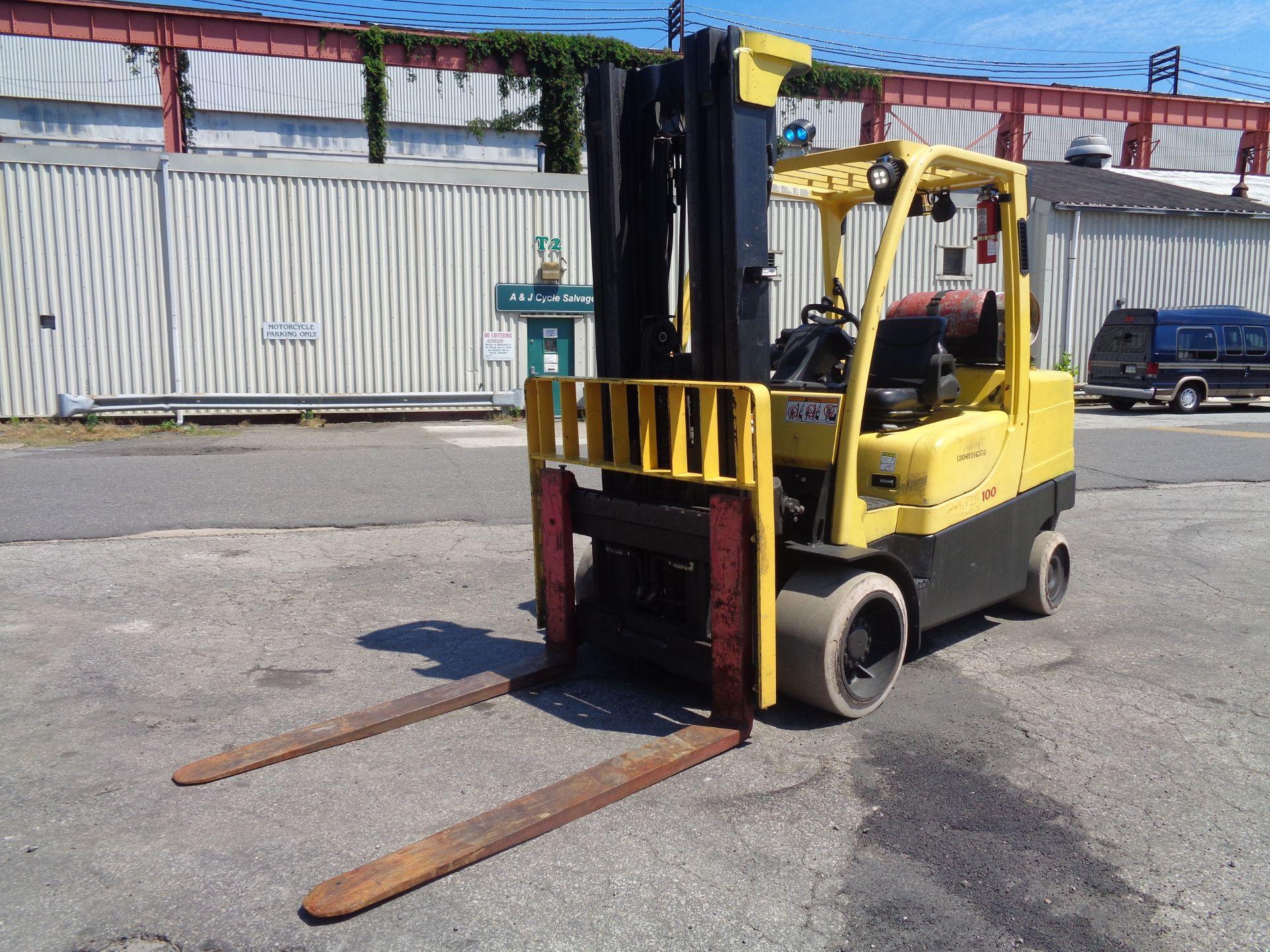Hyster S100FT 10,000lb Forklift - Image 6 of 17