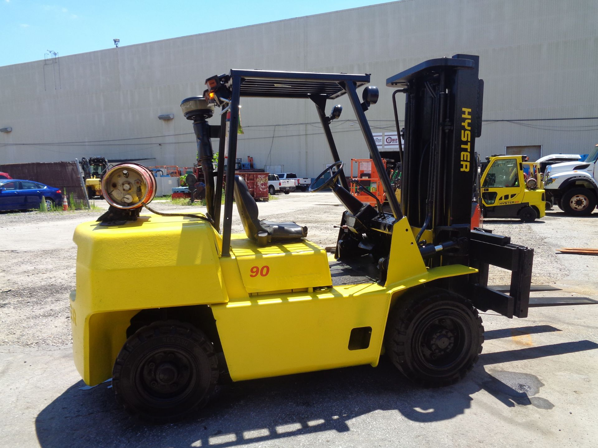 Hyster H90XLS Forklift 9,000 lbs - Image 4 of 13