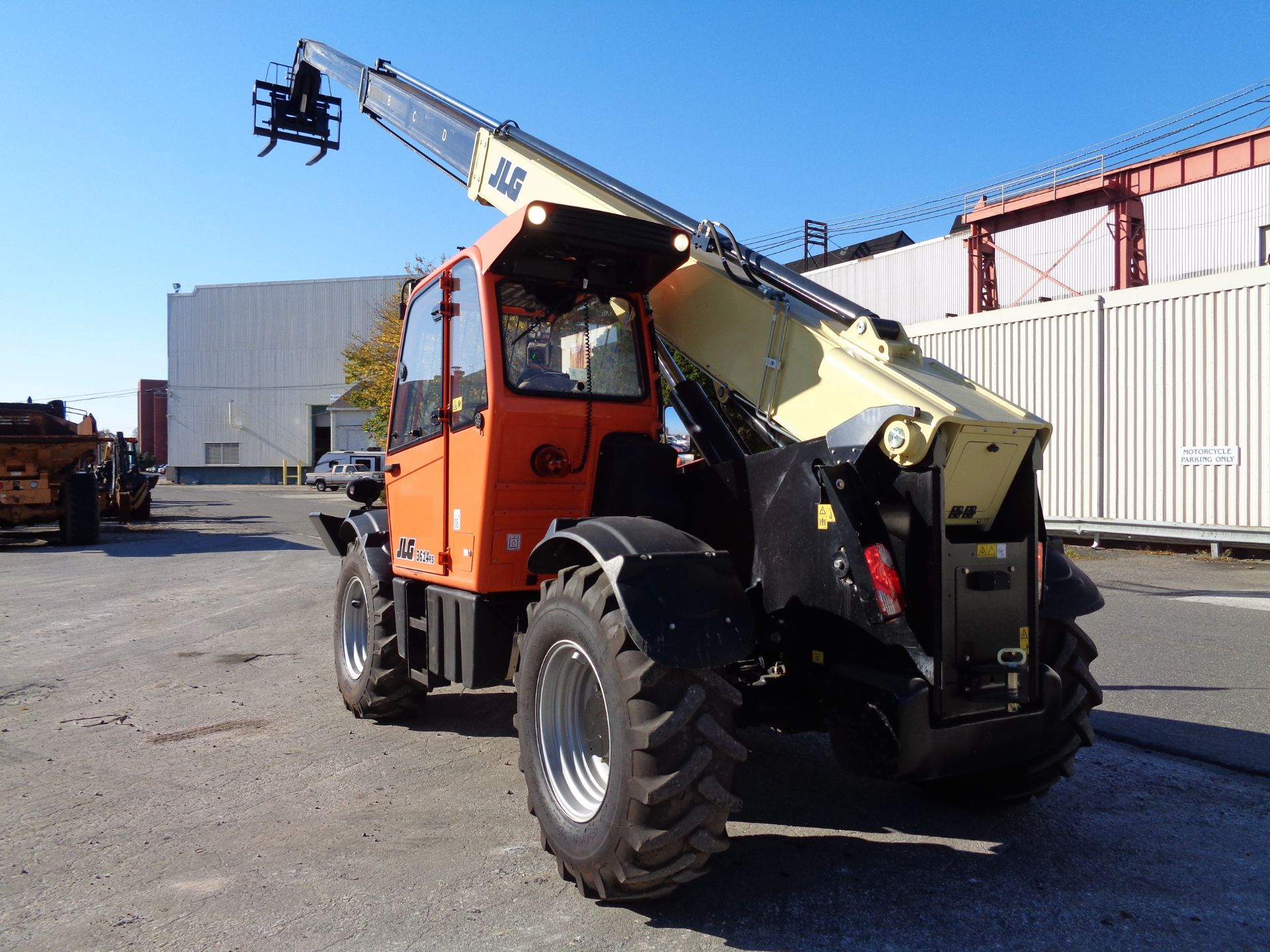 Lot 45c - 2016 JLG 3614RS 8,000 lb Telescopic Forklift