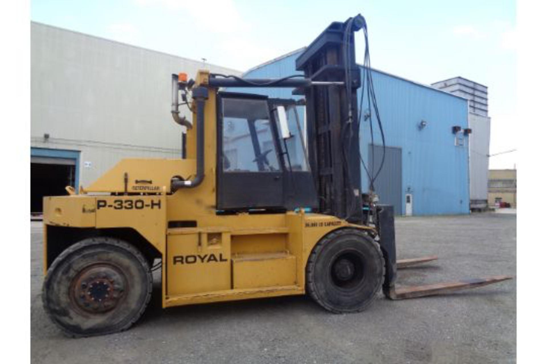 1998 Royal P330H 36,000lb Forklift - Image 7 of 19