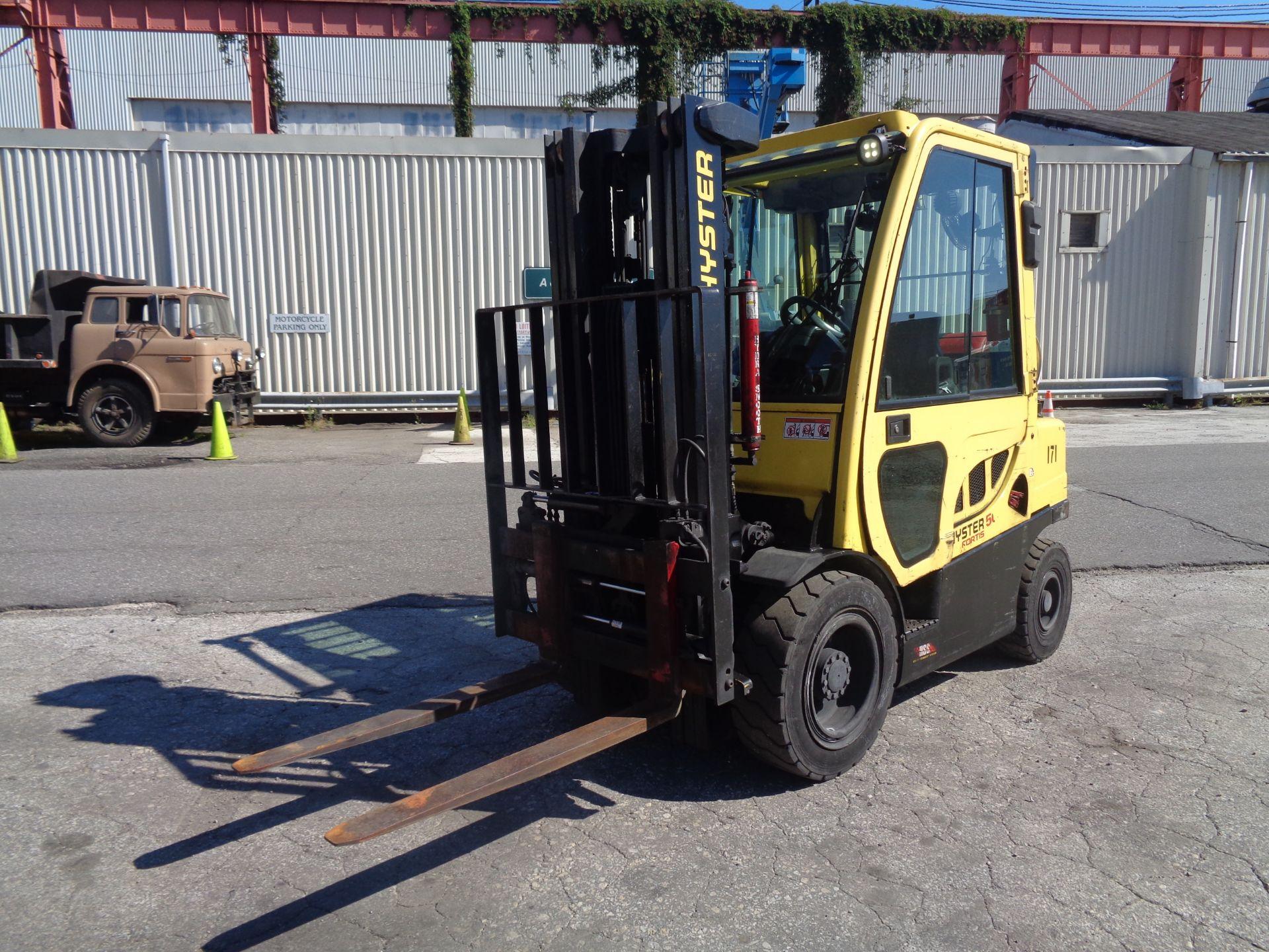 2015 Hyster H50FT 5,000 lb Forklift - Image 3 of 12