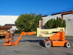 2011 JLG E400AJPN Electric Boom Lift 40FT