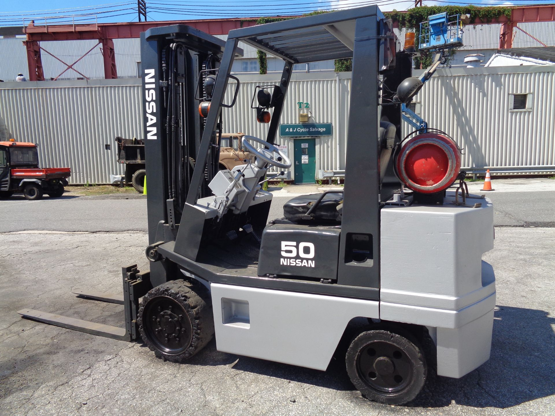 Nissan KCPH02A25PV 4,400 lb Forklift - Image 4 of 17