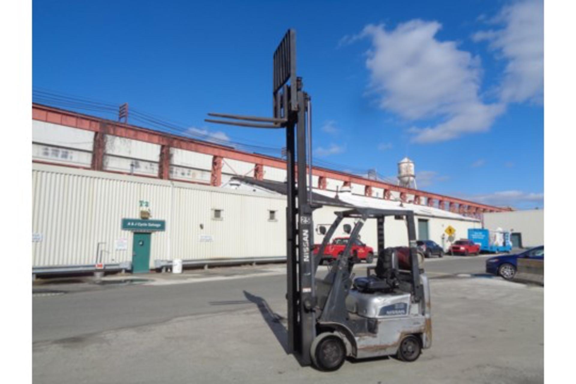 Nissan MCPL01A18LV 3500lb Forklift - Image 11 of 16