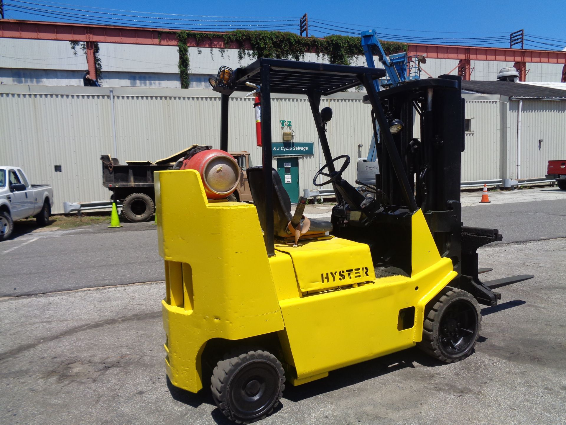 Hyster S80XL 8,000 lbs Forklift - Image 13 of 13