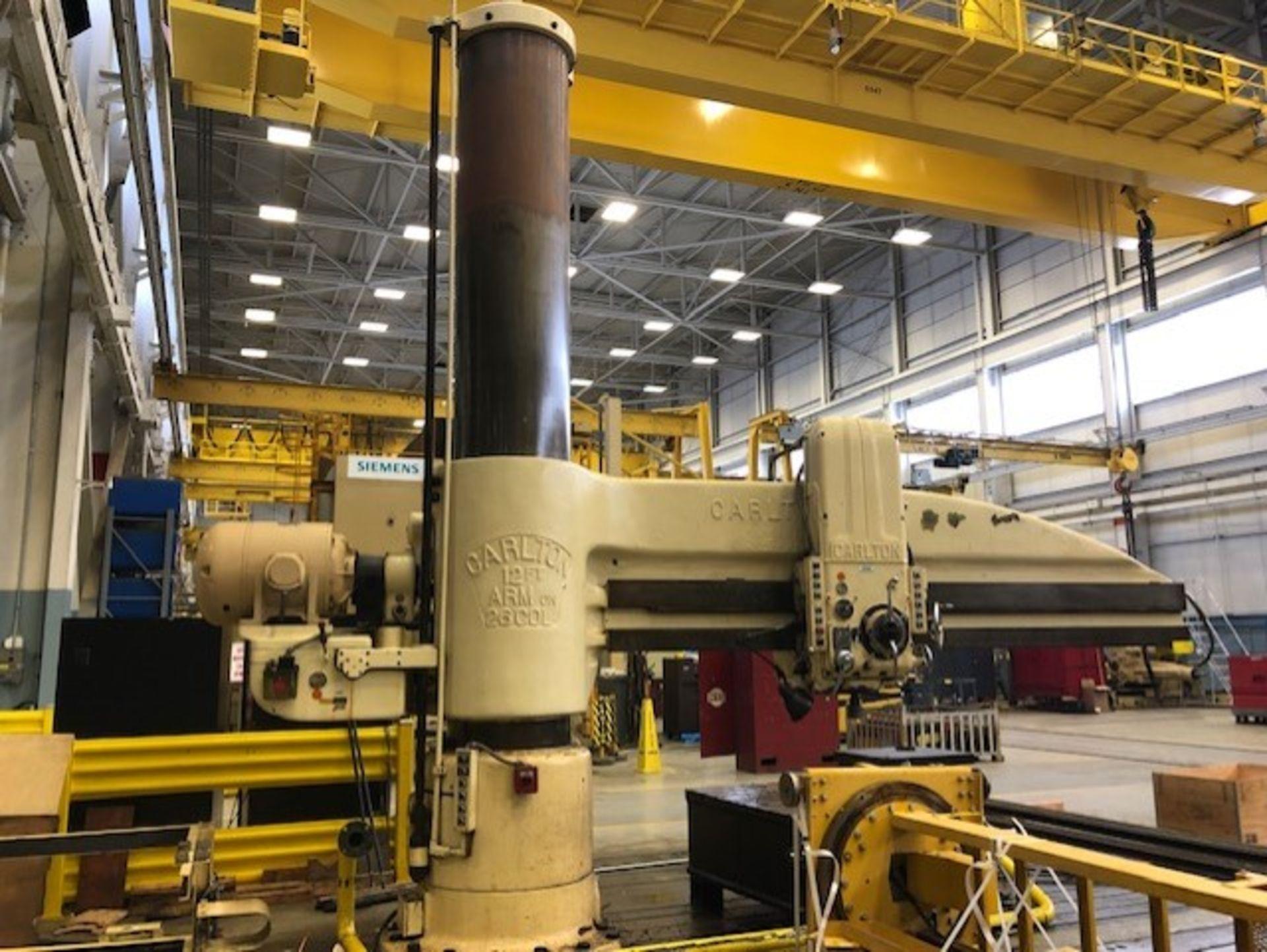 Lot 17 - Carlton Radial Drill Milling Machine