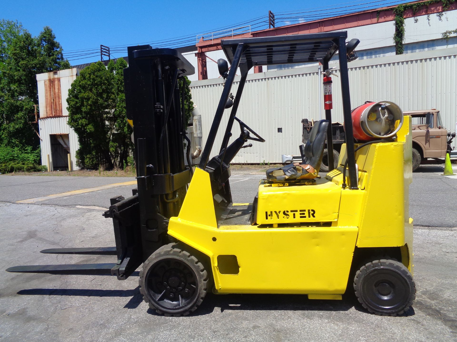 Hyster S80XL 8,000 lbs Forklift
