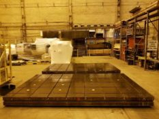 T Slotted Floor Plates 16ft x 10ftx 12in