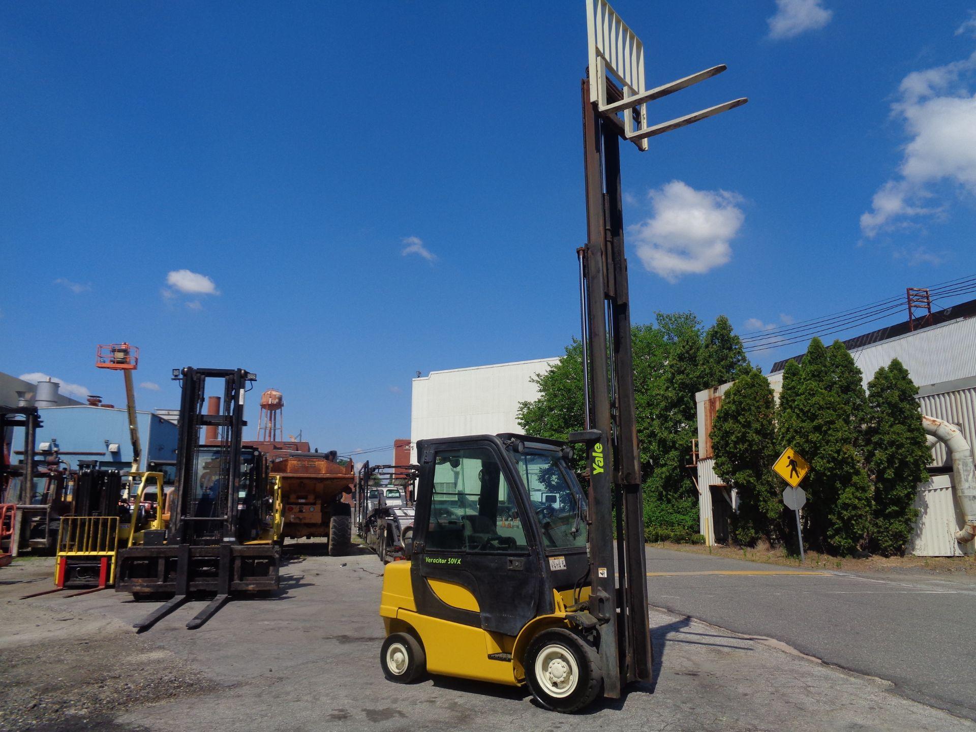 Yale GLP05VXEUSE086 5000 lb Forklift - Image 8 of 14