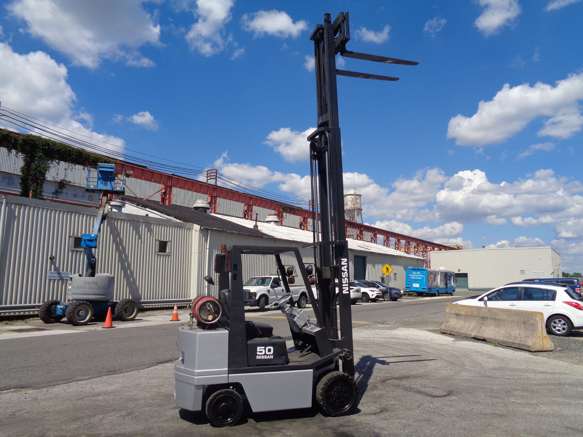 Nissan KCPH02A25PV 4,400 lb Forklift - Image 12 of 17