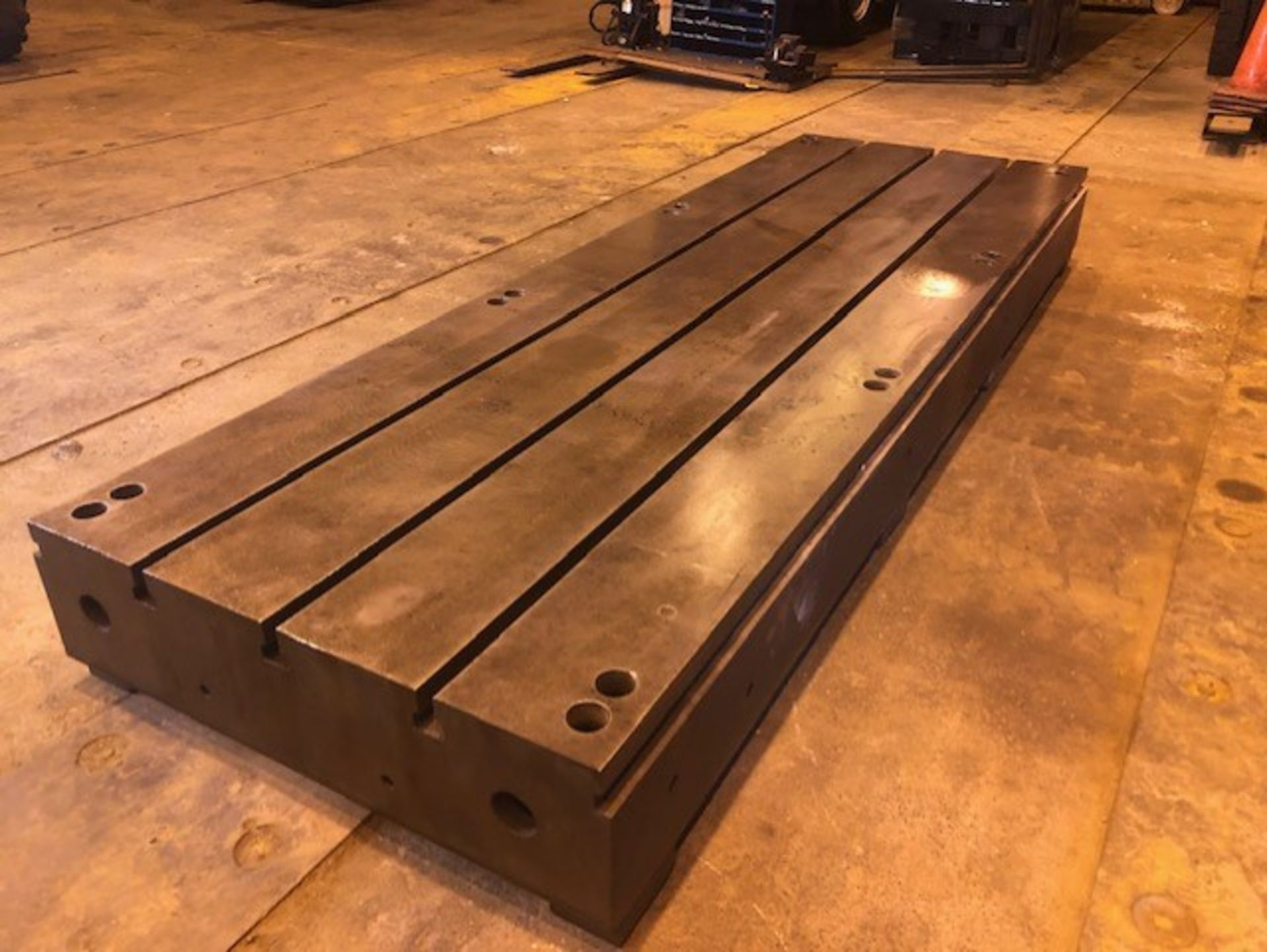 Lot 13 - T Slotted Floor Plate144in L x 48in W x 12.5in H