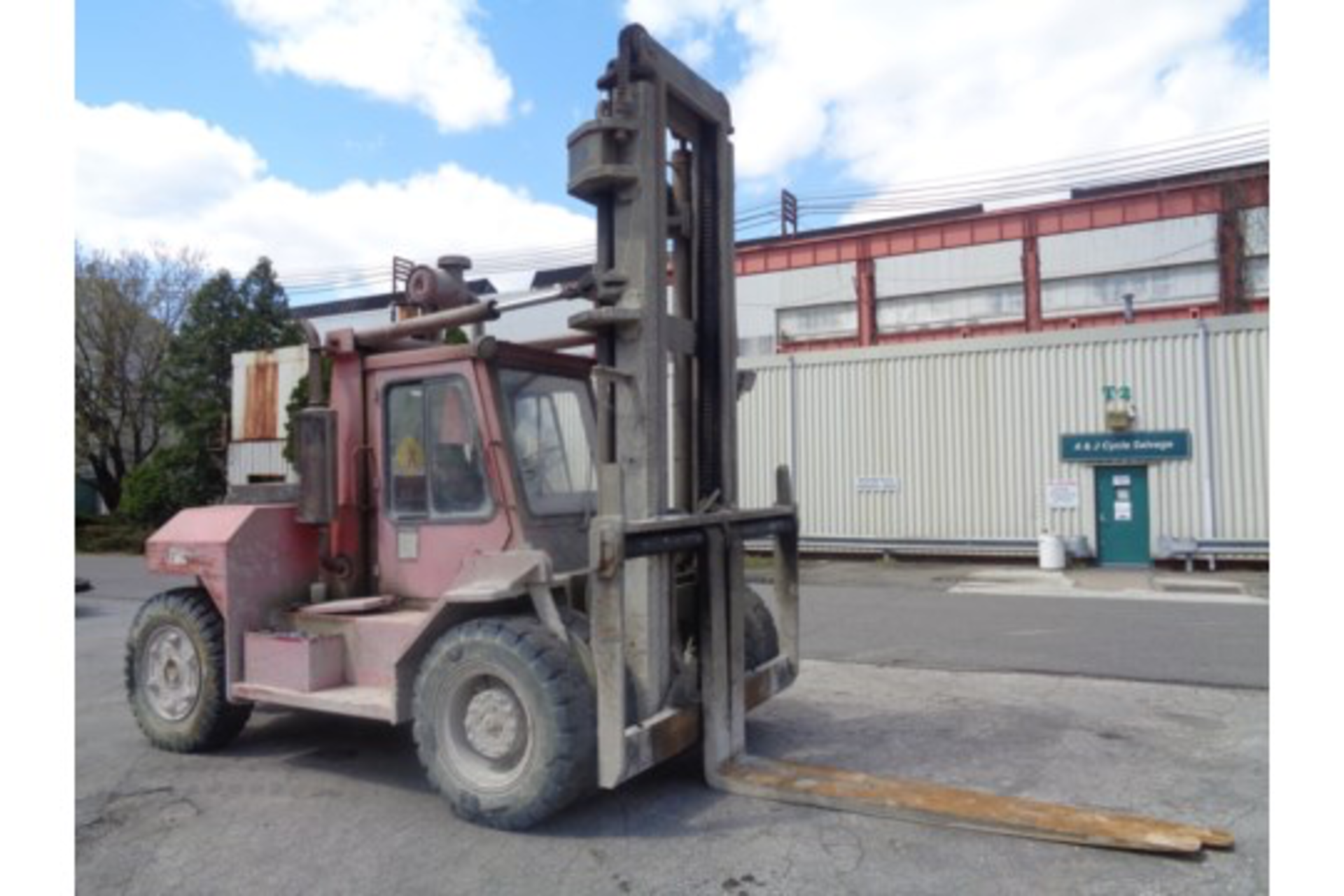 Taylor TE200S 20,000lb Forklift - Image 6 of 10