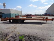 2009 Hudson Bros Trailer HTD18D- 10 Ton- 20FT Equipment Flat Bed