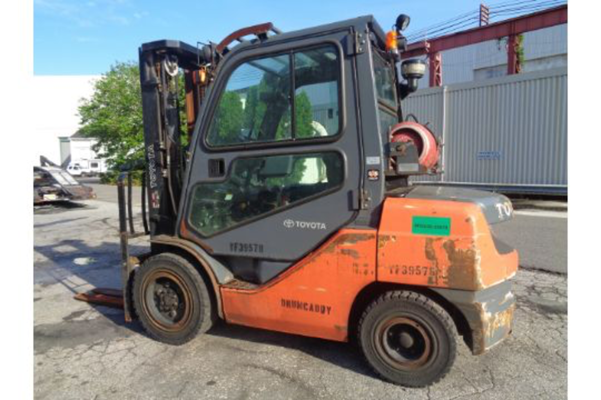 Lot 64 - 2014 Toyota 8FGU30 6,000lb Forklift