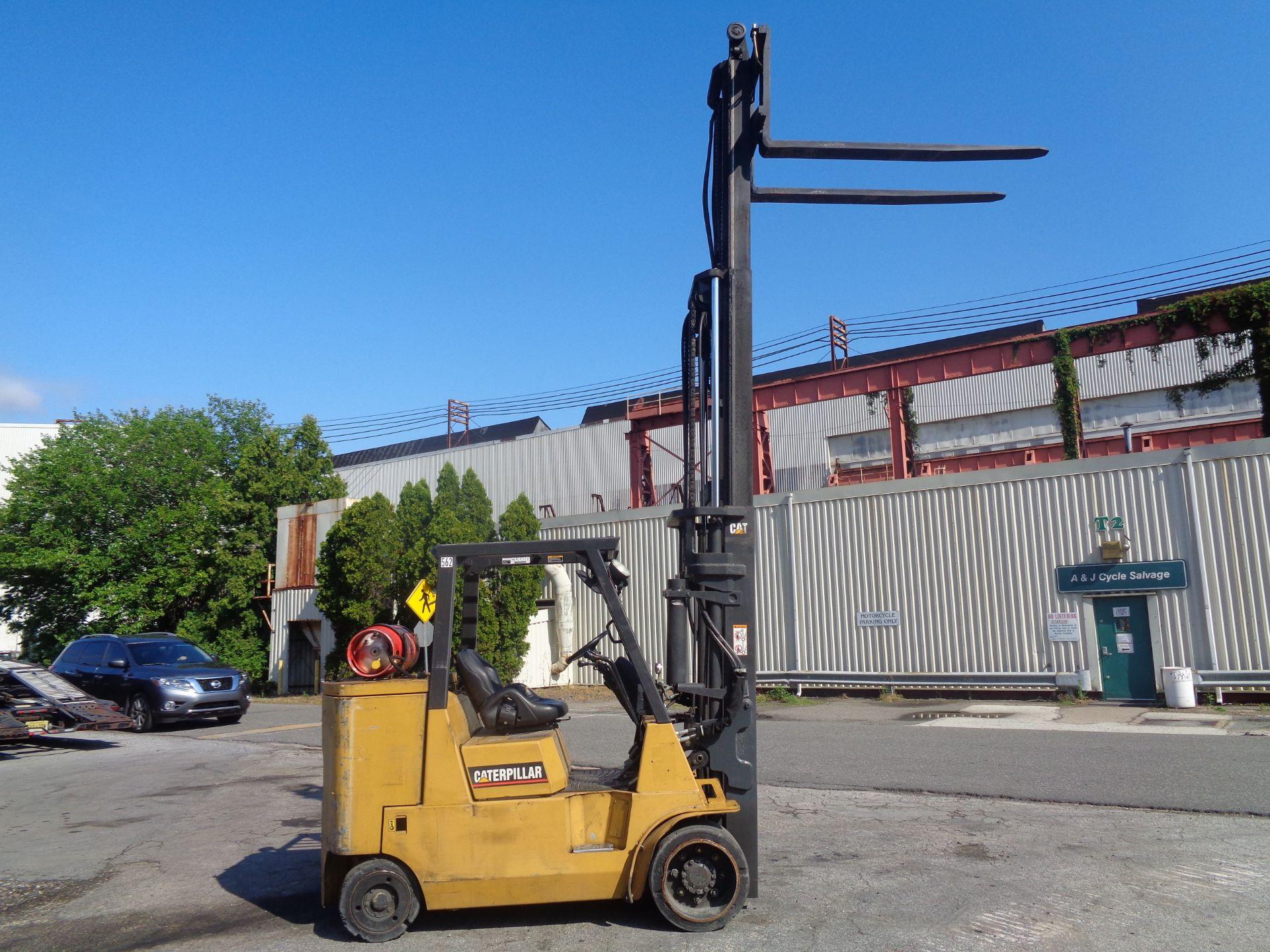 Lot 43 - Caterpillar GC55KSTR 11,000lb Forklift