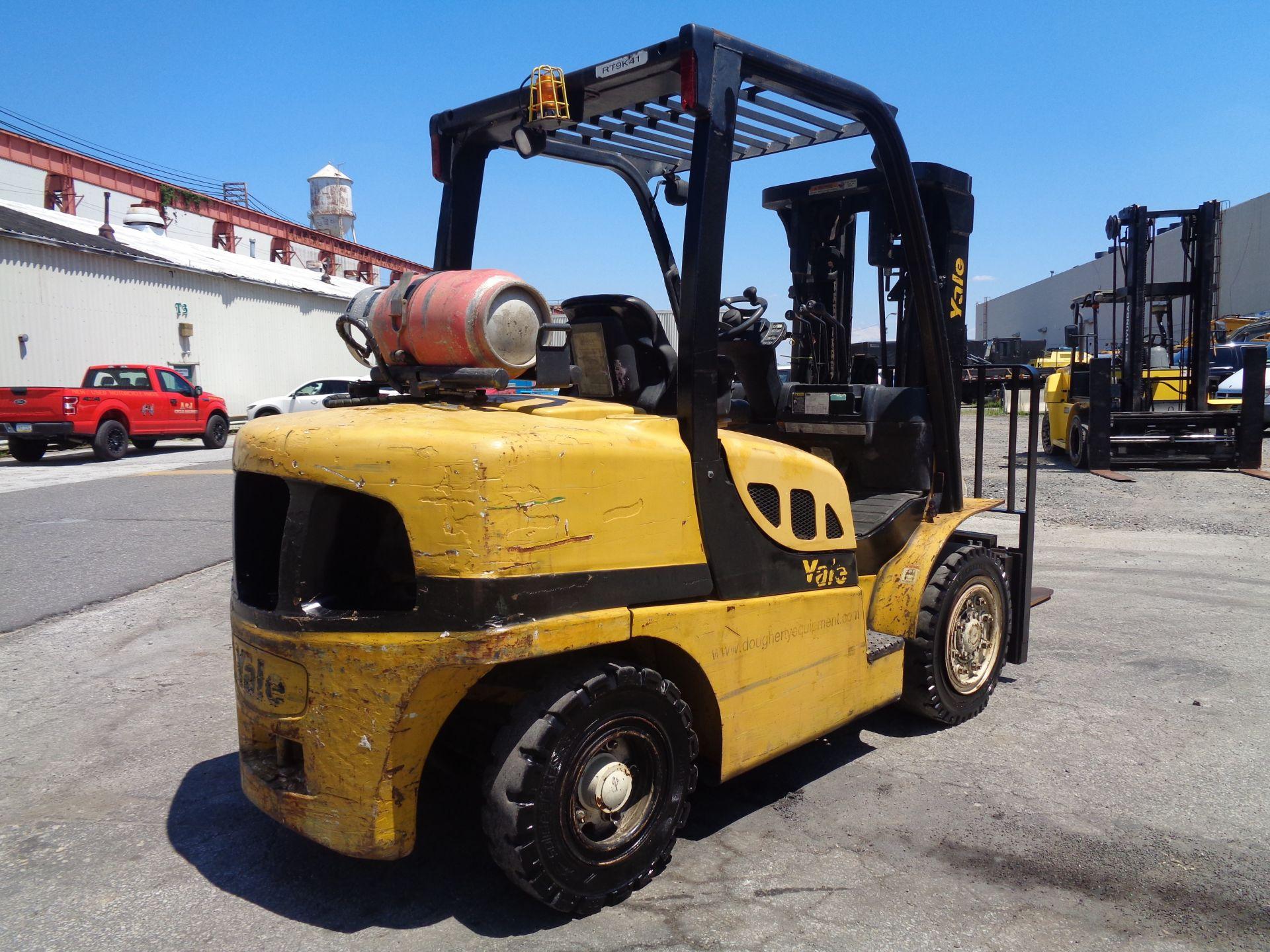 Lot 19 - Yale GLP090VXNGSE086 9,000lb Forklift