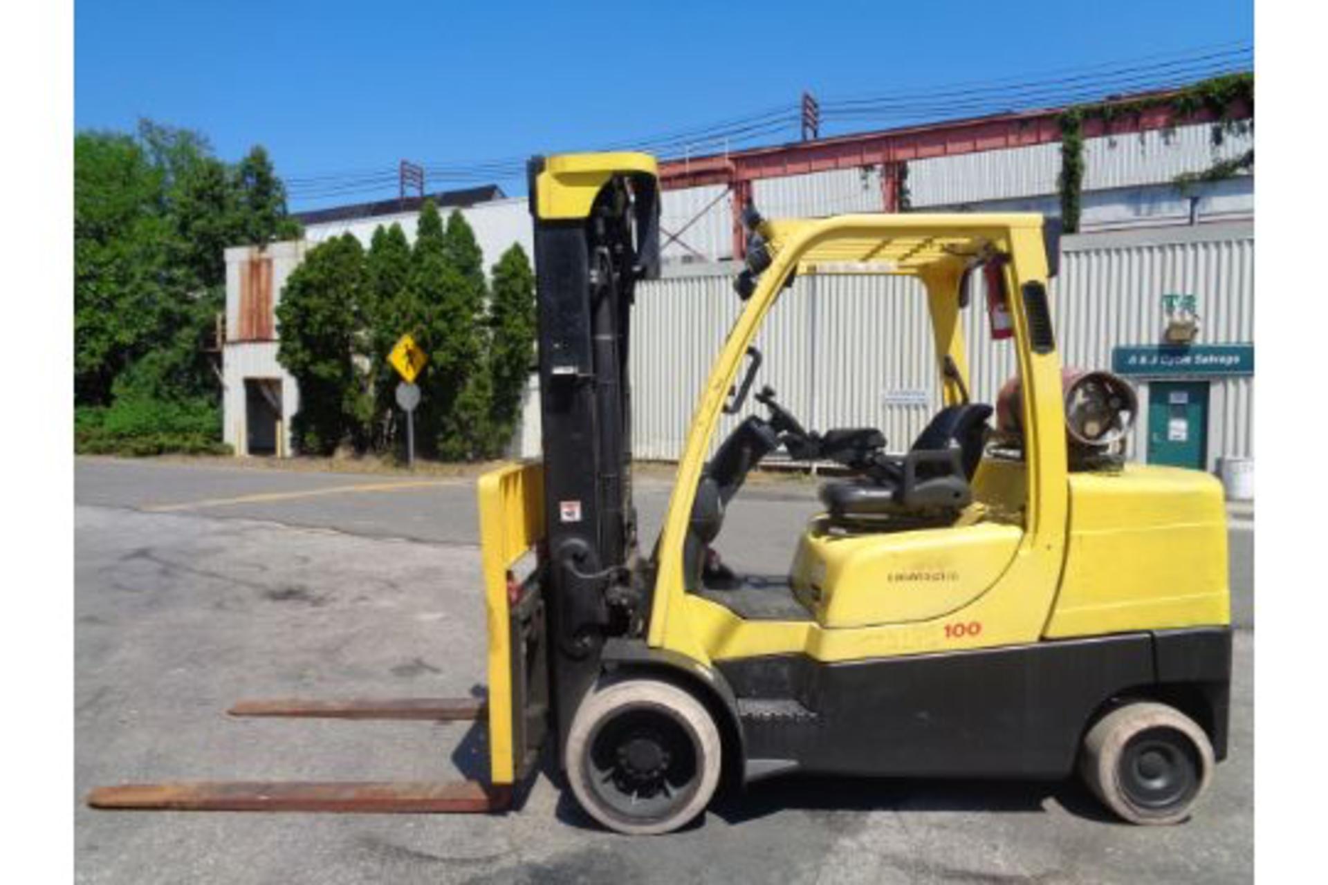 Lot 48 - Hyster S100FT 10,000lb Forklift