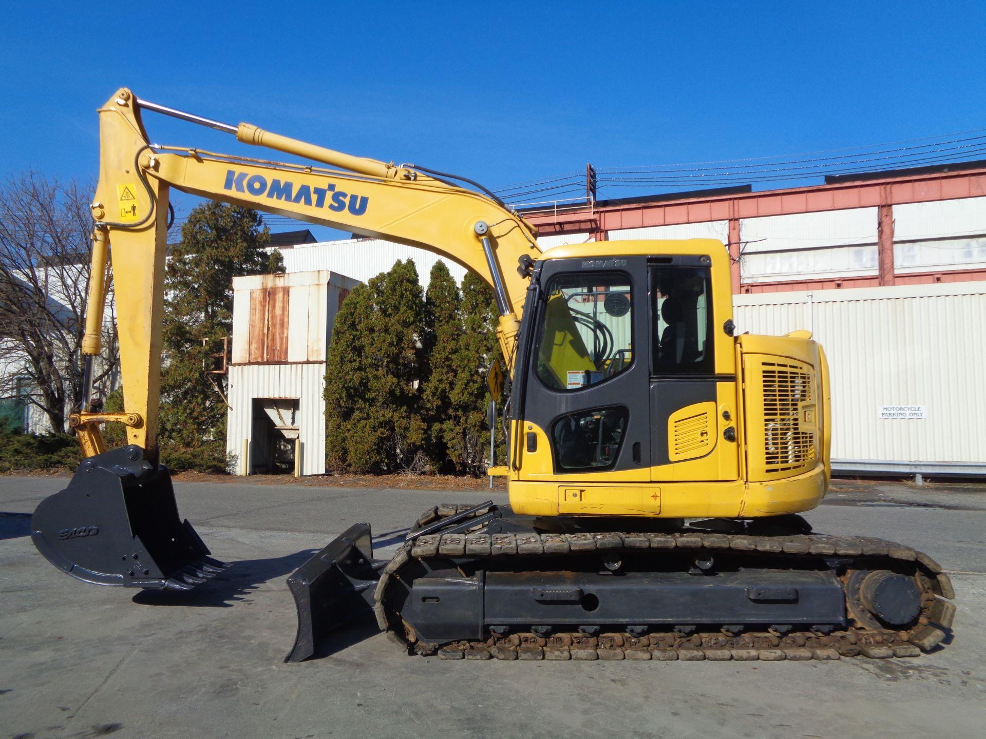 Lot 52 - 2015 Komatsu PC138USLC-10 Hydraulic Excavator
