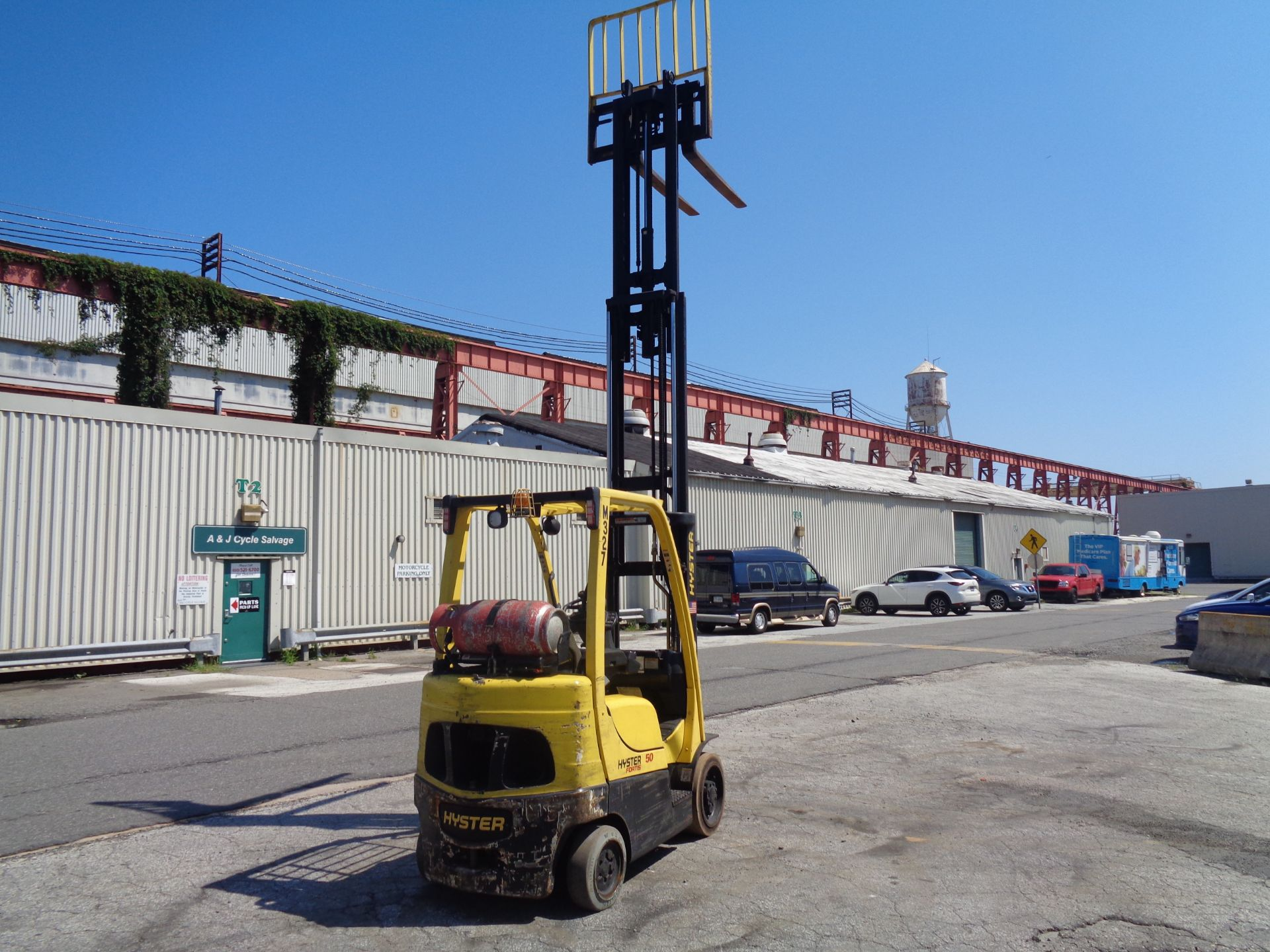 Lot 57 - Hyster S50FT 5,000lb Forklift