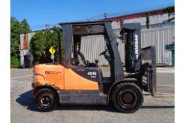 2014 Doosan D45S-5 10,000lb Forklift