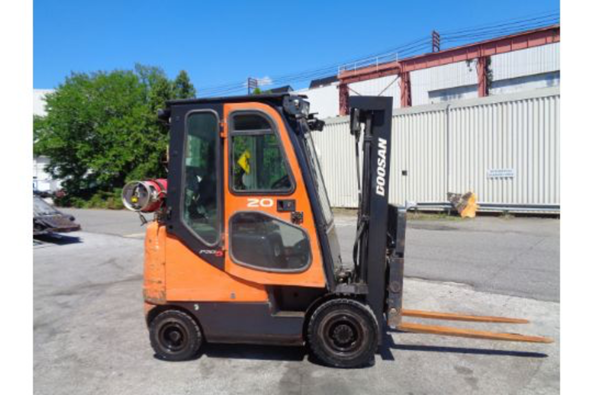 Lot 18 - Doosan G20SC-5 4,000lb Forklift