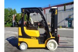 2011 Yale GLC050VXNVSE085 5,000lb Forklift