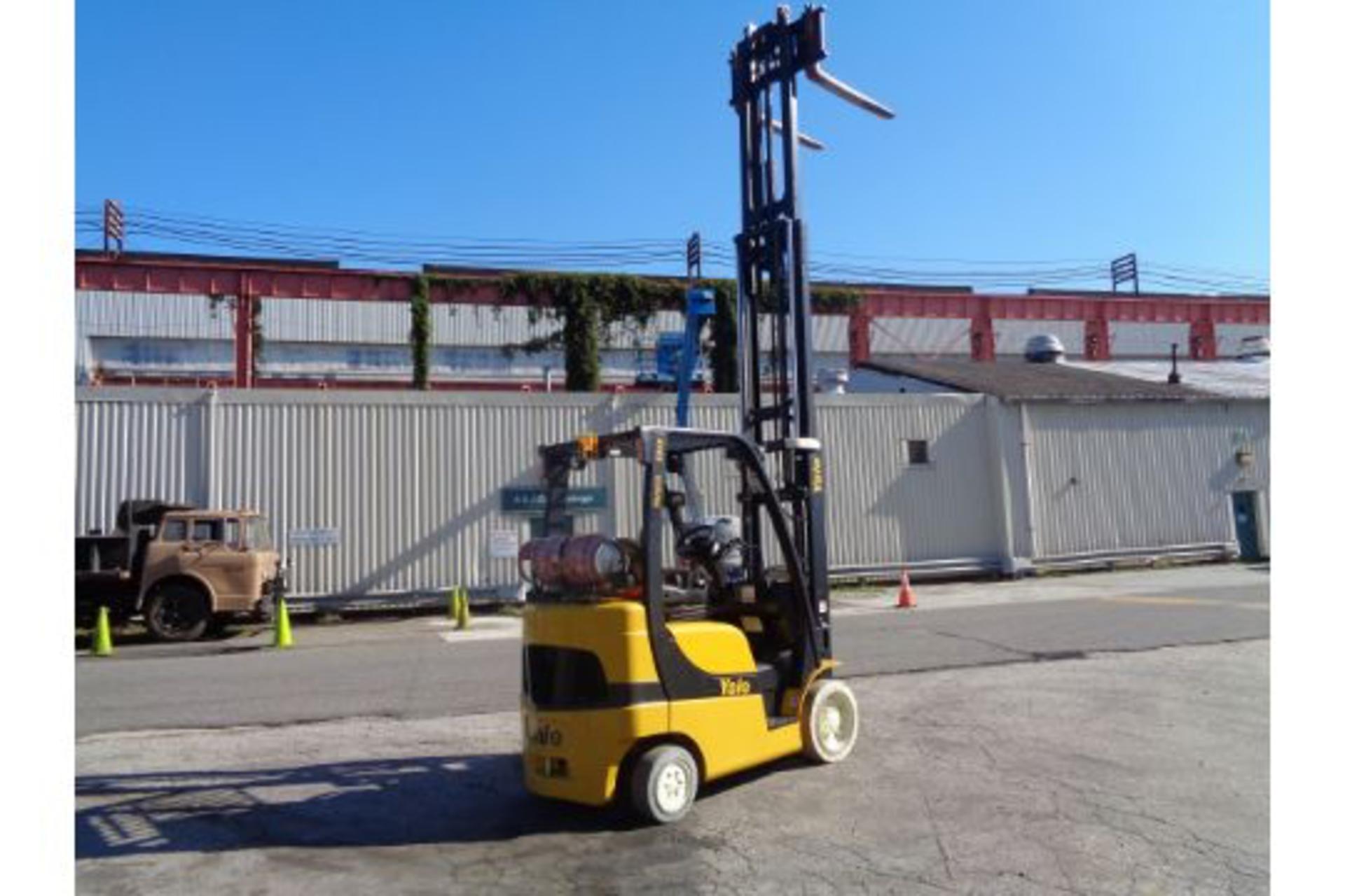 Lot 54 - 2011 Yale GLC050VXNVSE085 5,000lb Forklift