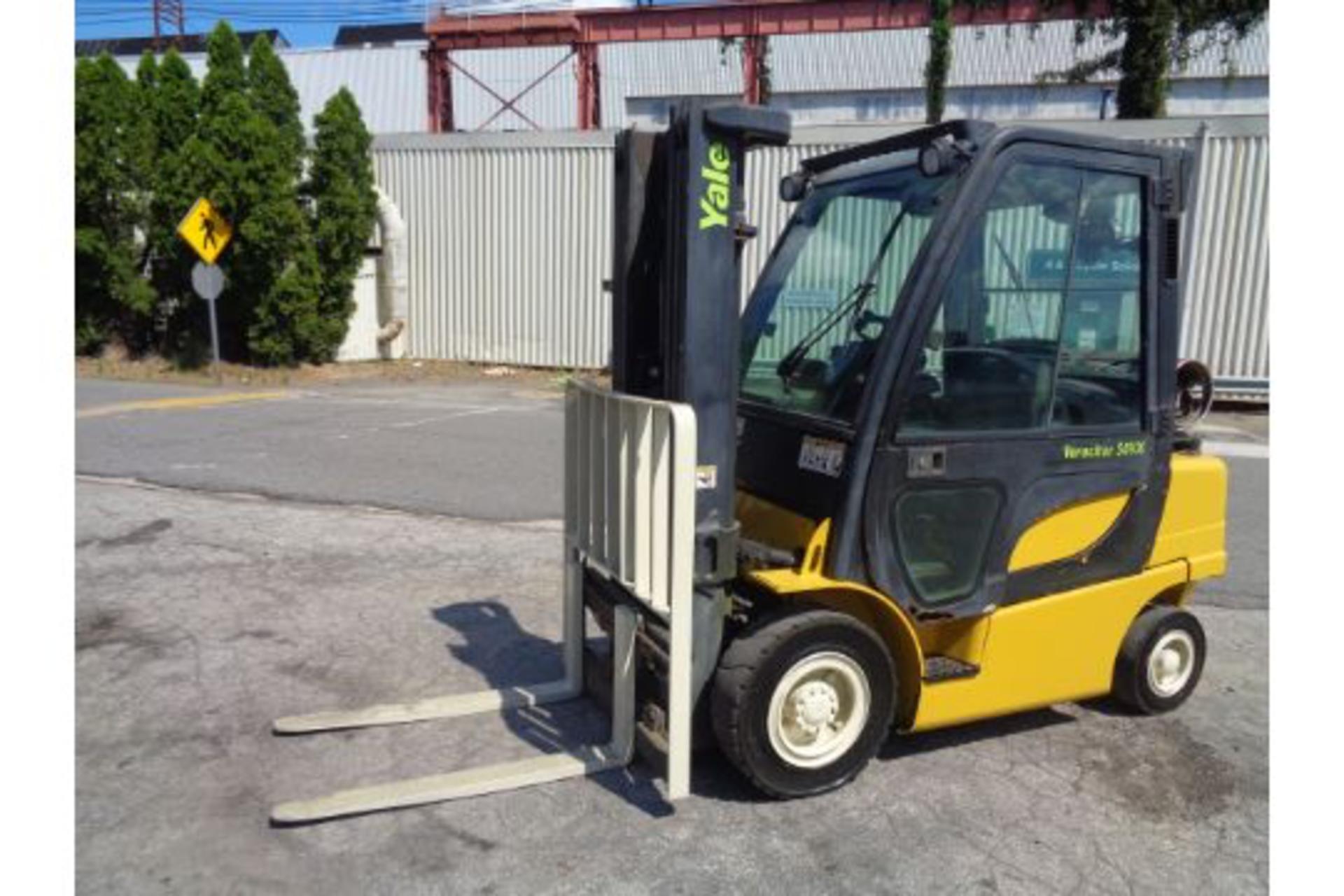 Lot 24 - Yale GLP05VXEUSE086 5,000lb Forklift