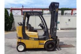 2007 Yale GC080VXNGSE107.6 8,000lb Forklift