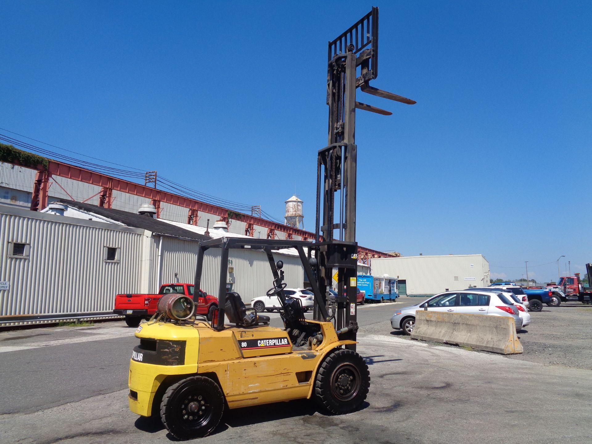 Lot 23 - Caterpillar GP40 8,000lb Pneumatic Forklift