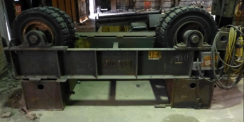 Lot of (2) Tank Rollers