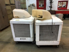 Lot of 2 Schaefer Portable Cooling Fans