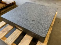 "Granite surface plate 24""x24"""