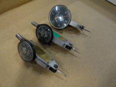 (3) Browne and Sharpe BesTest jeweled indicators, .0001, .0005