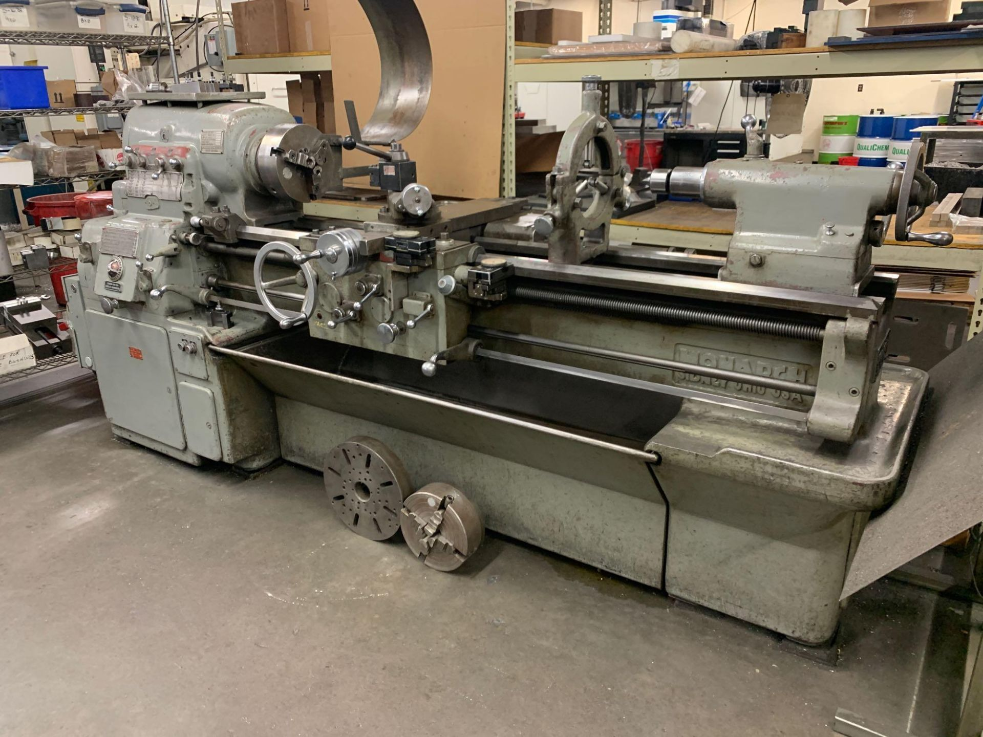 Monarch Model 14 Engine Lathe Serial Number: 40465 Swing ...