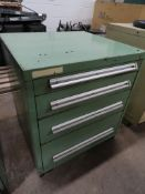 4-drawer heavy duty ball bearing drawer cabinet, approximate 30 x 28 x 33 inches
