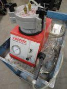 Loctite Bond-A-Matic 3000 Dispenser, air pressure regulated, includes metal cart