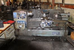 "Kingston HJ-1100 Engine Lathe, 18"" Swing, 40"" Between Center w/ Engine Rest"