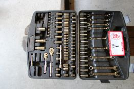 Stanley Tool Set, Ratchets, Sockets, Wrenches, Etc.