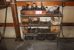 Mill Cutters, Tool Holders, (2) Lathe Chucks, Mill Bits, Boring Bar, Etc. - For Vertical Mills