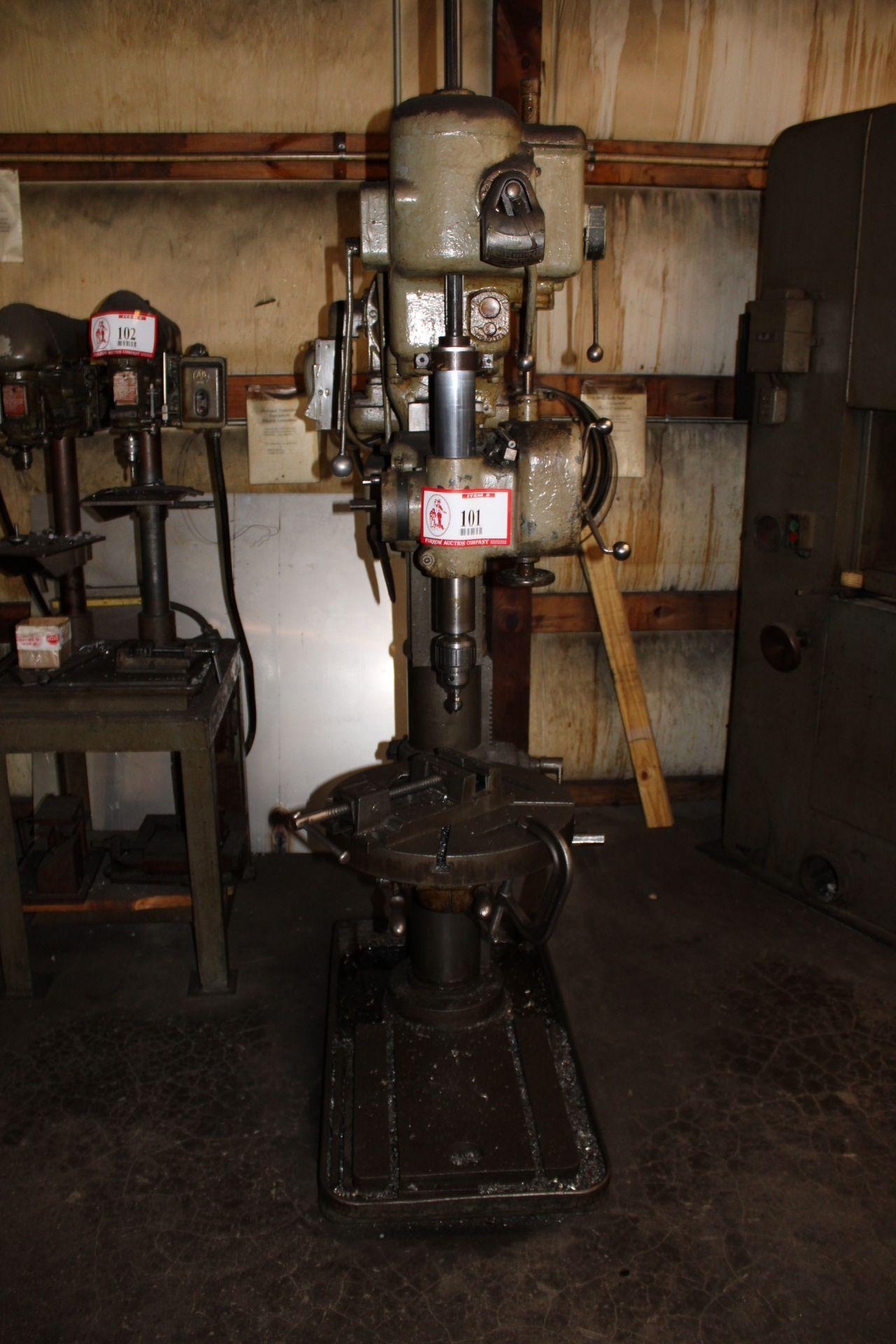 Lot 101 - Cincinnati Bickford Super Service Vertical Drill Press