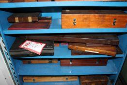 """(1) Shelf to Include: Grove Gauge, (2) Inside Mite, 24"""" Vernier Caliper"""
