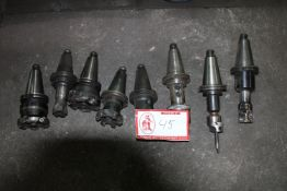 (8) Cutting Milling Heads- Does not include Shanks